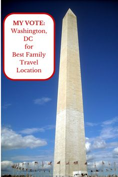 MY VOTE: Washington, DC for Best Family Travel Location - #HB4TFamTravel - Headband For Today #TypeAParent