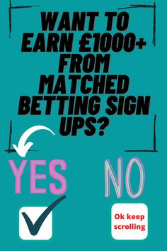 Matched betting. How to earn tax free money from home using matched betting. Free sign up offer. Risk free profits from bookmaker offers. #matchedbetting #sidehustle #riskfreeincome Free Cash, Tax Free, Free Money, Matched Betting, Starting School, Looking Online, Free Sign, Online Income, Lost Money