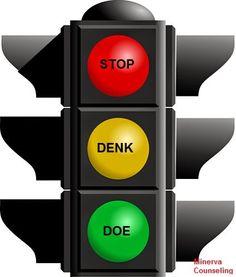 Minerva Blog: Stop, denk, doe... de stoplichtmethode