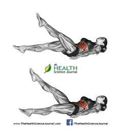 © Sasham   Dreamstime.com - Fitness exercising. Scissors exercise. Female