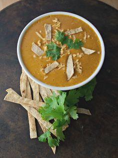 Produce On Parade - Creamy Cheesy Tortilla Soup