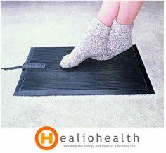 Heated Portable Floor Rug Mats Cozy Electric