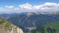 Roter Stein (2.366 m) Gipfelpanorama