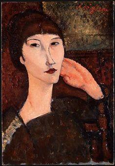 Adrienne, Amedeo Modigliani