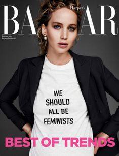How the stars are wearing Dior's cult feminist T-shirt