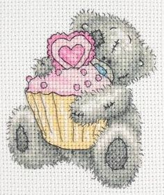 Cupcake Tatty Teddy Kit by Anchor only £11.00