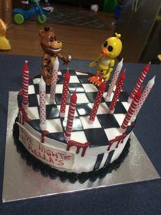 Five nights at Freddie's FNAF Birthday Cake for Bella's 11th birthday