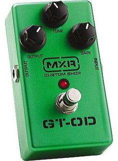 MXR GT-OD OVERDRIVE PEDAL - M-193