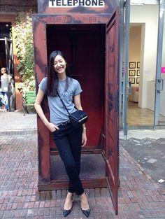 Liu wen #streetstyle