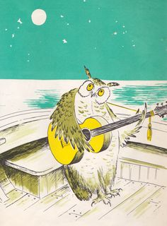 The Owl and the Pussy-Cat by Edward Lear, illustrated by Barbara Cooney (1969 edition)