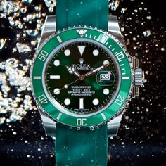 Dive into the new trend with Swiss-made rubber straps for your Rolex