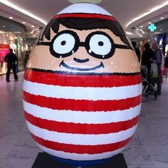Wheres Wally?, Martin Handford @ a secret location (Canary Wharf).#Repin By:Pinterest++ for iPad#