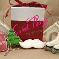 Medium cookies - sweetthingsbywendy.ca Edible Favors, Party Favours, Joy To The World, Time Of The Year, Cookies, Christmas Ornaments, Medium, Holiday Decor, Sweet