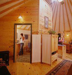 Make a yurt your home.