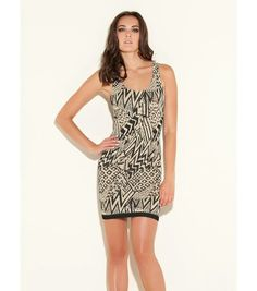 Sexy tribal dress by Guess
