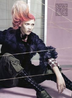 Craig McDean + styling with twine