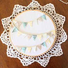 Homestead: Embroidery Hoop Art