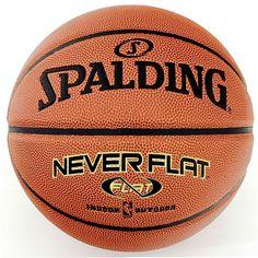 Spalding 29.5-in. NBA Neverflat Basketball - Men's, Multicolor