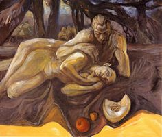 """On the Beach (Hades and Persephone)"" by Jacqueline Morreau"