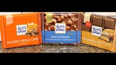 Ritter Sport: Corn Tortilla Chips, Macadamia & Caramel Mousse Review