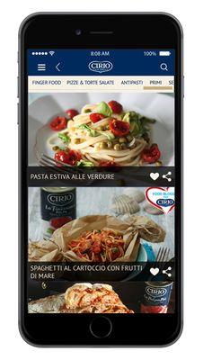 #appCirio #ricette #ricetteCirio