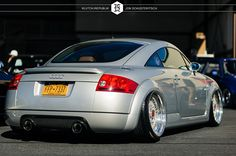 Stanced Audi TT RS | silver audi mk1 tt bss rs baged at canibeats first class fitment 2012 ...