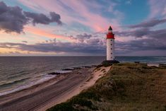 Anholt Lighthouse by Martin Worsøe Jensen on 500px