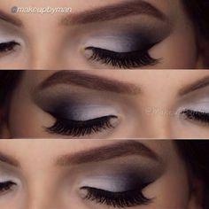 Flawless smokey eye look by #makeupbyman using Motives Beauty Weapon Palette!