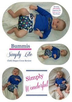 The Simply Lite and Dimple Diaper combination quickly became my go-to night time solution and I'm excited to bring you a Bummis Simply Lite review.