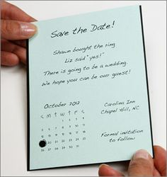 Save The Date!    http://www.lcipaper.com/blog/ways-to-use-hole-punch-decorate-invitations.html