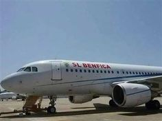 SPORTS And More: #SLBenfica plane the will take the team to #Canada...