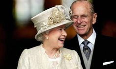 A cute shot of HM and Prince Phillip