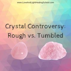 Which is better: a rough crystal, or one that's been polished? We hear that question all the time at Mimosa. My own instinctive feeling has always been that rough stones have a purer energy and a more forceful presence than stones that have been cut or polished. But others with lots of experience say the form of the stone makes no difference.