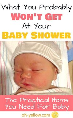 What you really NEED for baby. This list of practical baby items is what a new mom actually must have. These are essentials that you probably won't get at your baby shower and you definitely don't want to go without once your newborn arrives. Prepare for baby with these excellent tips...