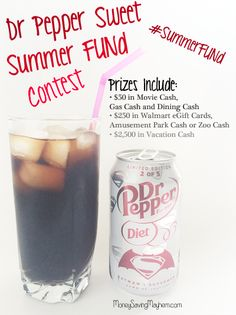 reat yourself to a one of a kind taste and enter to win a chunk of the Dr Pepper Summer FUNd.