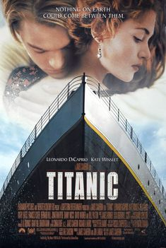 "Directed by James Cameron , ""Titanic"" is the film, released in theaters in 1997, which describes the sinking of the famous cruise ship telling the love story of Jack and Rose, played respectively by Leonardo DiCaprio and Kate Winslet ."