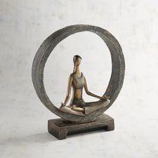 Modern Yoga Woman In Circle – Manualidades - Yoga Meditation Stool, Meditation Room Decor, Meditation Cushion, Meditation Space, Yoga Decor, Yoga Bewegungen, Yoga Art, Yoga Blanket, Home Decor Inspiration