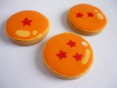 Dragon Ball cookies...handpainted