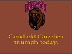 Up With Montana, University of Montana Marching Band -- Go Griz!