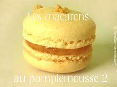 Macarons au pamplemousse | by puregourmandise.com