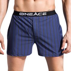 a6c64ea53b0 Mens Vertical Striped Printing Arrow Shorts Casual Home Bamboo Fiber  Breathable Wicking Boxers at Banggood