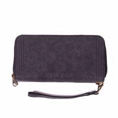 5574d7a3a60 My Classic Bag Double Wallet Flower of Life Off Black MYOMY bij So Baggy  webshop