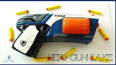 How to make a Nerf Gun Cake from Creative Cakes by Sharon