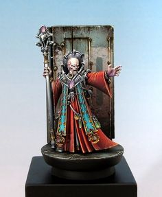 Genestealer Magus by Enrique Velasco - emuse · Putty&Paint