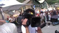 #Tournage Village Départ à #Modane France 3 - le Vendredi 22 juillet 2011