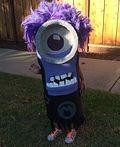 Homemade Purple Minion Costume - 2014 Halloween Costume Contest