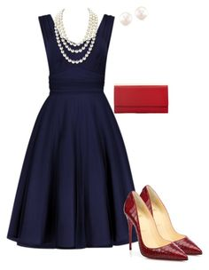 """Untitled #2"" by jean-vitello on Polyvore featuring Chanel and Christian Louboutin"