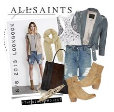 """""""#TheBikerProject AllSaints"""" by ashley-rebecca ❤ liked on Polyvore"""