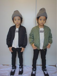 """moss315's coordinated using """"[KIDS] quilt ribs blouson (green label relaxing)"""" of"""
