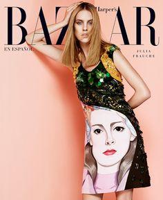 Harper's Bazaar Mexico February 2014 | Julia Frauche by Jason Kim